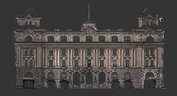 Britomart Central Post Office Building 3D Scan